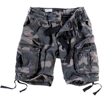 kratke hlače muške SURPLUS - Airborne vintage - Crno Doći, SURPLUS
