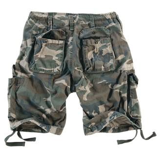 kratke hlače muške SURPLUS - Airborne Vintage - Woodland Gewas, SURPLUS