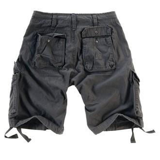 kratke hlače muške SURPLUS - Airborne Vintage - Crno, SURPLUS