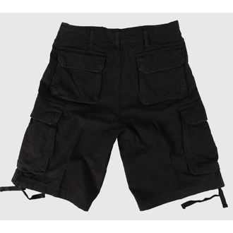 kratke hlače muške Američko-BDU - Vintage - Crno, BOOTS & BRACES