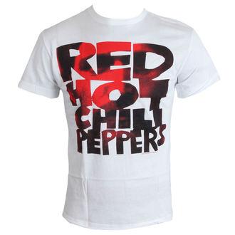 Majica muška Crven Hot Chili Paprike - Tip Face Popuniti - Bijelo - AMPLIFIED, AMPLIFIED, Red Hot Chili Peppers