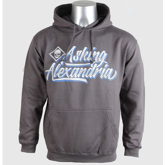 hoodie muški Asking Alexandria - Skripta - Siva - PLASTIC HEAD, PLASTIC HEAD, Asking Alexandria