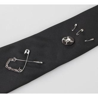 kravata QUEEN OF DARKNESS - Crno, QUEEN OF DARKNESS