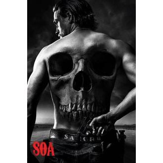 plakat Sons Od Anarchy - Skull - PYRAMID POSTERS, PYRAMID POSTERS