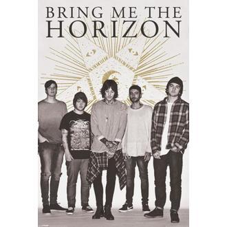 plakat Bring Me The Horizon - Star - PYRAMID POSTERS, PYRAMID POSTERS, Bring Me The Horizon