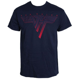 Majica muška VAN HALEN - Classic Logo - PLAVA - LIVE NATION, LIVE NATION, Van Halen