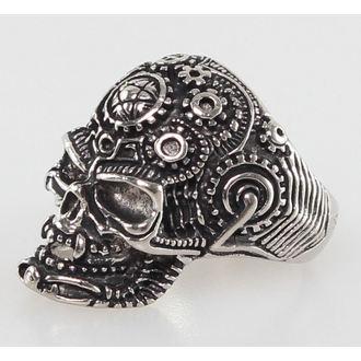 prsten Skull