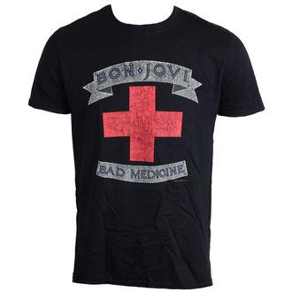 Majica muška Bon Jovi - Loše Lijek - LIVE NATION - PE12128TSBP