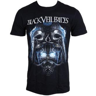Majica muška Crno VEIL BRIDES - Metal Mask - Crno - LIVE NATION, LIVE NATION, Black Veil Brides