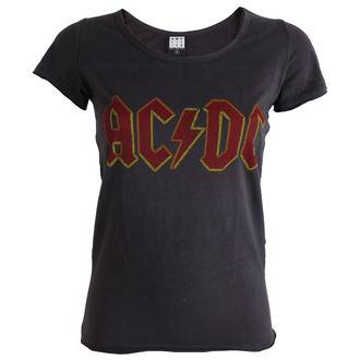 Majica ženska AC / DC -Logo - Ugljenasto - AMPLIFIED