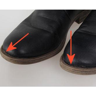 Cipele ženske BRANDIT - Bikerboot - Crno - OŠTEĆENA, BRANDIT