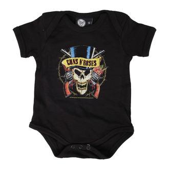 Dječji bodi Guns N' Roses - Vrh Šešir - Crno - Metal-Kids, Metal-Kids, Guns N' Roses