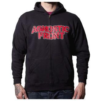 hoodie muški Agnostic Front - Never Walk Alone - Buckaneer - Crno, Buckaneer, Agnostic Front
