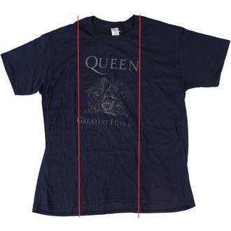 Majica muška Queen - Najveći Hits II - Mornarica - BRAVADO EU - OŠTEĆENA, BRAVADO EU, Queen