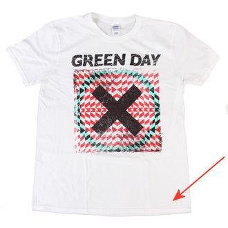 Majica muška Green Day - Xllusion - Bijelo - BRAVADO EU - OŠTEĆENA, BRAVADO EU, Green Day