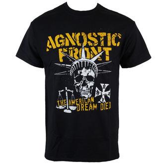 Majica muška Agnostic Front - Liberty Skull - Crno - RAGEWEAR, RAGEWEAR, Agnostic Front