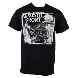 Majica muška Agnostic Front - Gasmask - Crno - RAGEWEAR, RAGEWEAR, Agnostic Front