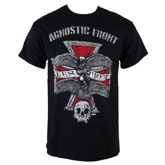 Majica muška Agnostic Front - Les Crew- Crno - RAGEWEAR, RAGEWEAR, Agnostic Front