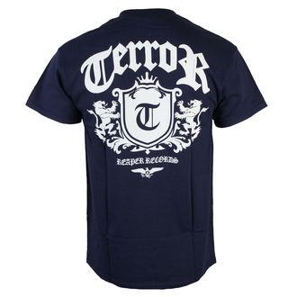 Majica muška Terror - Lion Crest - NAVY plava - RAGEWEAR, RAGEWEAR, Terror