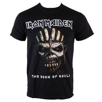 Majica muška Iron Maiden - Knjiga Od Duše - Crno - ROCK OFF, ROCK OFF, Iron Maiden