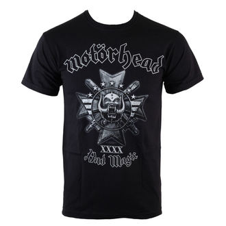 Majica muška Motörhead - Bad Magic - Crno - ROCK OFF, ROCK OFF, Motörhead