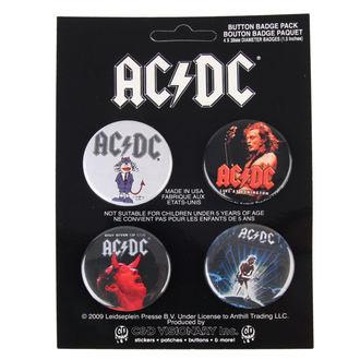 Bedževi AC / DC - Logo, C&D VISIONARY, AC-DC