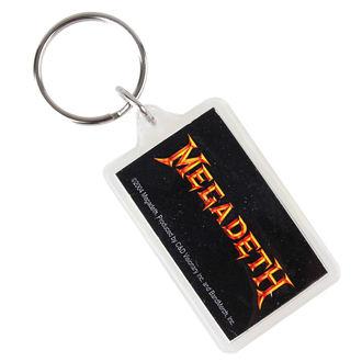 Privjesak za ključeve Megadeth - Logo, C&D VISIONARY, Megadeth