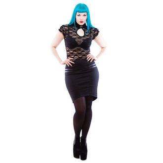 suknja ženska NECESSARY EVIL - Gothic Corra - Crno, NECESSARY EVIL