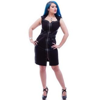 Haljina ženska NECESSARY EVIL - Gothic Luna - Crno, NECESSARY EVIL