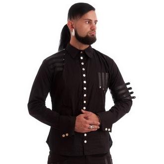 košulja muška NECESSARY EVIL - Mephisto - Crno, NECESSARY EVIL