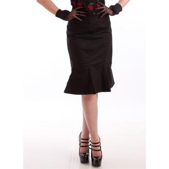 suknja ženska NECESSARY EVIL - Damara Retro Lala - Crno, NECESSARY EVIL