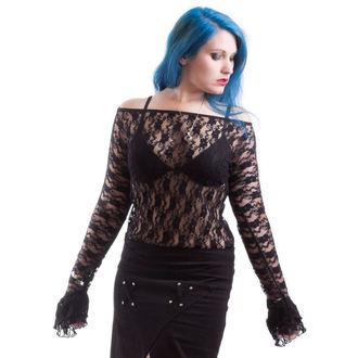 Majica ženska dugi rukav NECESSARY EVIL - Ziva - Crno, NECESSARY EVIL