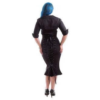 Košulja ženska NECESSARY EVIL - Belisama Puplin - Crno, NECESSARY EVIL