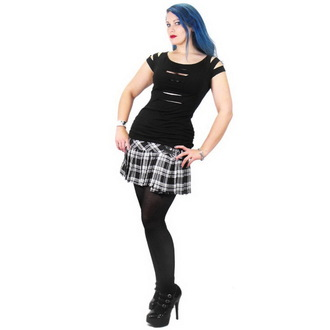 Majica ženska NECESSARY EVIL - Erinys Slashed - Crno, NECESSARY EVIL