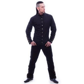 košulja muška NECESSARY EVIL - Chronus - Crno, NECESSARY EVIL