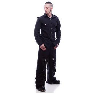 košulja muška NECESSARY EVIL - Slaine - Crno, NECESSARY EVIL