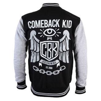 hoodie muški Baseball - Comeback Kid - Watchful Eye - VICTORY, VICTORY RECORDS, Comeback Kid