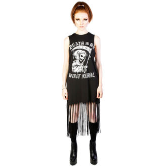 Ženska haljina DISTURBIA - Spirit Animal - Black, DISTURBIA