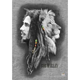 zastava Bob Marley - Profiles, HEART ROCK, Bob Marley
