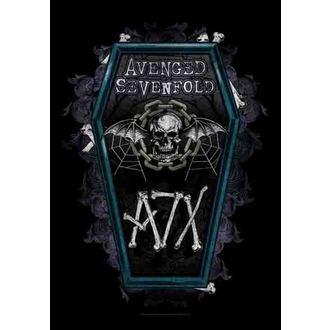 zastava Avenged Sevenfold - Coffin, HEART ROCK, Avenged Sevenfold