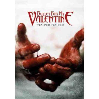 zastava Bullet For My Valentine - Temper Temper, HEART ROCK, Bullet For my Valentine