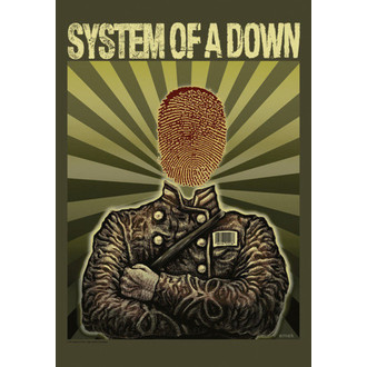 zastava System Of A Down - Soldier, HEART ROCK, System of a Down