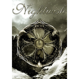 zastava Nightwish - Emblem, HEART ROCK, Nightwish
