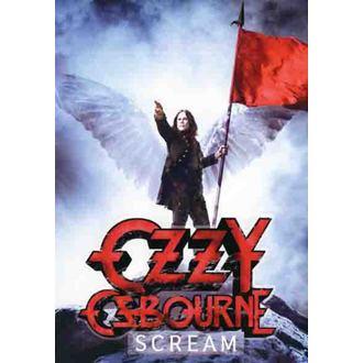 zastava Ozzy Osbourne - Scream, HEART ROCK, Ozzy Osbourne
