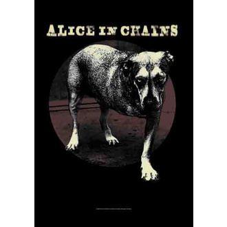zastava Alice In Chains - Grin , HEART ROCK, Alice In Chains