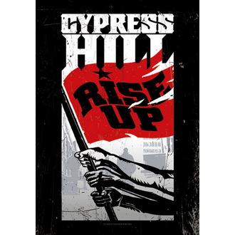 zastava Cypress Hill - Rise Up, HEART ROCK, Cypress Hill