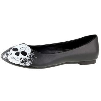Cipele ženske (balerinke) BANNED - Crno / Bijela, BANNED