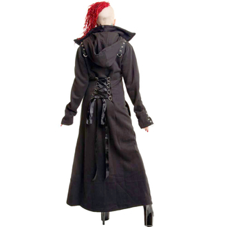 Ženski kaput POIZEN INDUSTRIES - Gavran, POIZEN INDUSTRIES