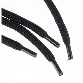Vezice 6 rupica za cipele - Crno, STEEL