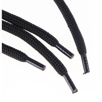 Vezice 15 rupica za cipele - Crno, STEEL